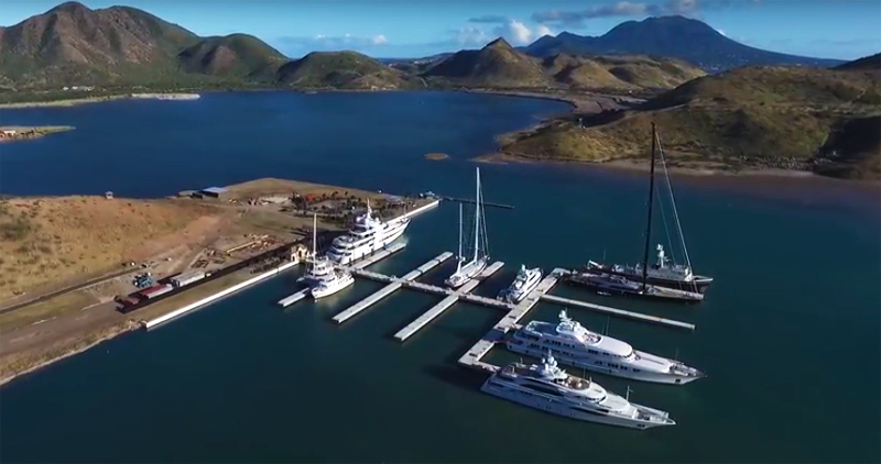 Christophe Harbour Saint Kitts and Nevis