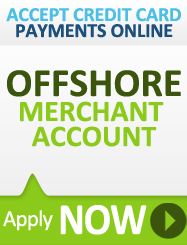 Account casino internet merchant offshore