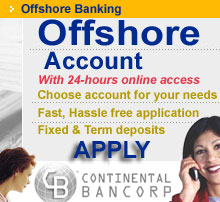 offshore bank account, offshore banking