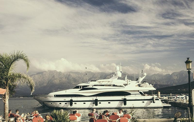 Offshore registration and management of yacht and ships